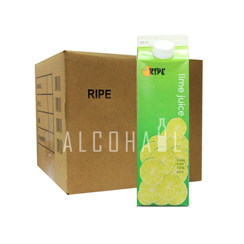 Ripe Lime Juice - Case 12 x 1 Litre