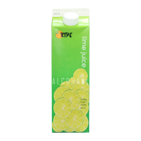Ripe Lime Juice - Pack 1 x 1 Litre