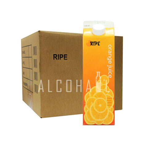 Ripe Orange Juice - Case 12 x 1 Litre
