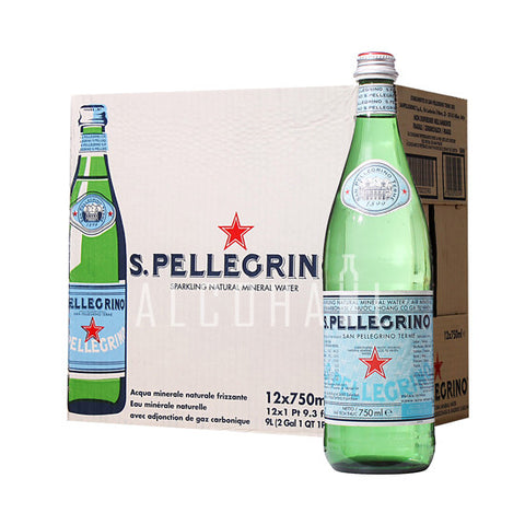 San Pellegrino Sparkling Water - Case 12 x 750ml