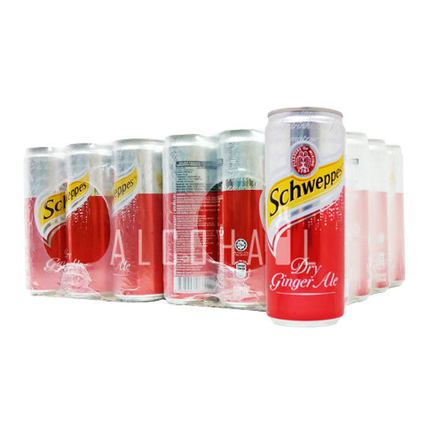 Schweppes Ginger Ale - Case 24 x 330ml