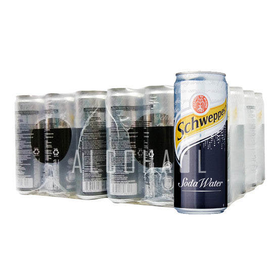 Schweppes Soda Water - Case 24 x 330ml