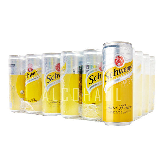 Schweppes Tonic Water - Case 24 x 330ml
