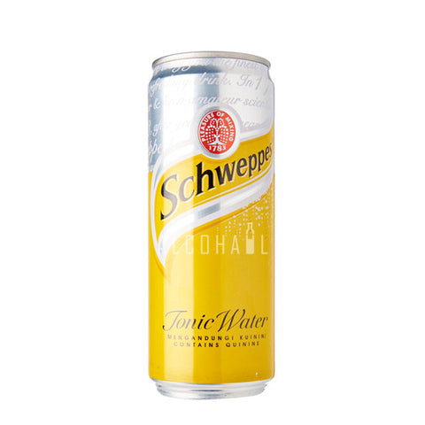 Schweppes Tonic Water - Can 1 x 330ml