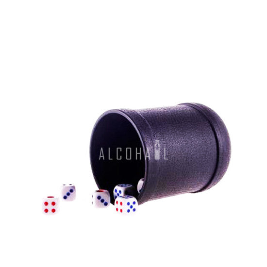 Shaker Cup with 5 Dice