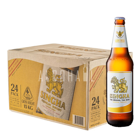 Singha Beer Bottle - Case 24 x 320ml