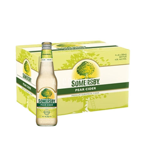 Somersby Pear Cider 330ml - Case 24 x 330ml