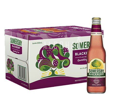 Somersby Blackberry Cider - Case 24 x 330ml