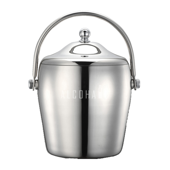 Stainless Steel Double Walled Ice Bucket