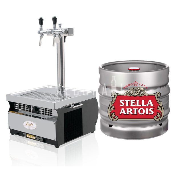 Stella Artois Beer Keg 30 Litre [Mobile Bar Dispenser Chargeable]