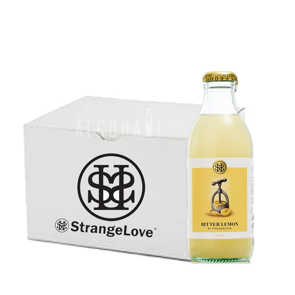 StrangeLove Premium Bitter Lemon - Case 24 x 180ml