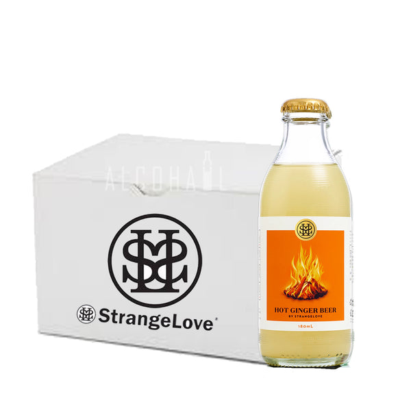 StrangeLove Premium Hot Ginger Beer - Case 24 x 180ml