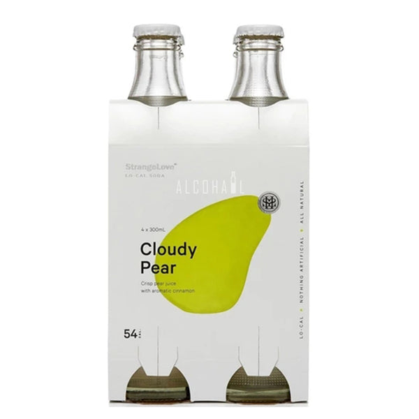StrangeLove Premium Lo-Cal Cloudy Pear - Pack 4 x 300ml