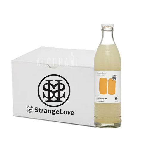 StrangeLove Premium Lo-Cal Double Ginger Beer - Case 24 x 300ml