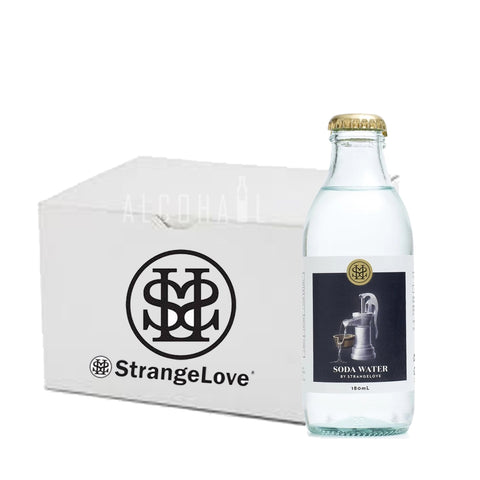 StrangeLove Premium Soda Water - Case 24 x 180ml