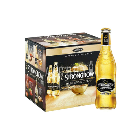 Strongbow Gold Apple Cider - Case 24 x 320ml
