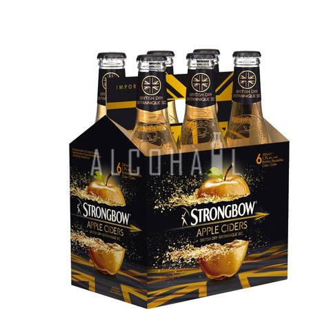 Strongbow Gold Apple Cider - Case 6 x 320ml