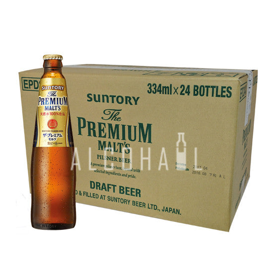 Suntory Premium Malt Beer - Case 24 x 334ml