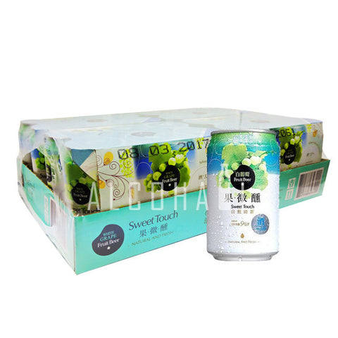 Taiwan Fruit Beer White Grape - Case 24 x 330ml