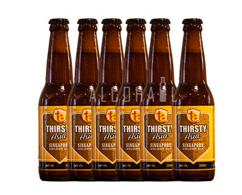 Thirsty Asia Singapore Golden Ale - Pack 6 x 330ml