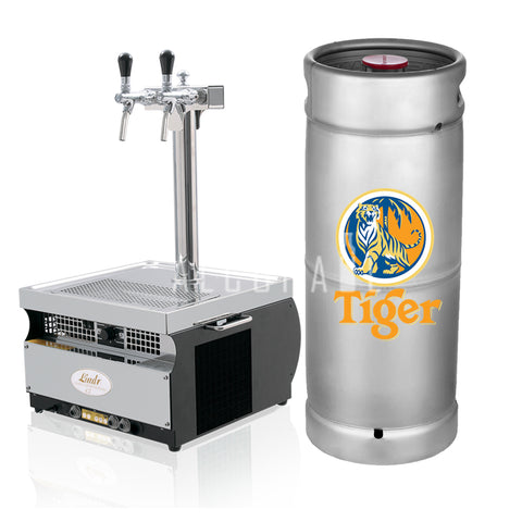 Tiger Beer Keg 20 Litre [Mobile Bar Dispenser Chargeable]