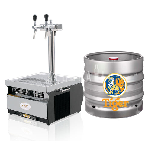 Tiger Beer Keg 30 Litre [Mobile Bar Dispenser Chargeable]