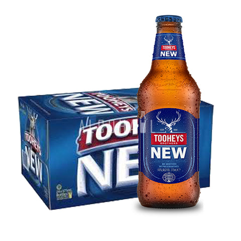 Tooheys New - Case 24 X 375ML