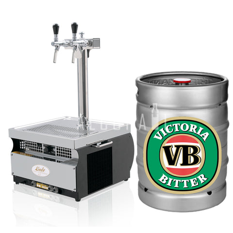 Victoria Bitter Beer Keg 50 Litre [Mobile Bar Dispenser Chargeable]