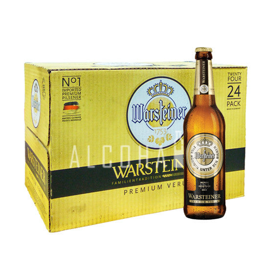 Warsteiner Premium Verum - Case 24 x 330ml
