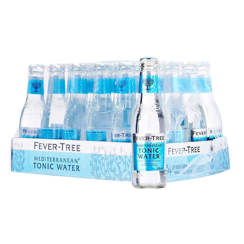 Fever Tree Mediterranean Tonic Water - Case 24 x 200ml