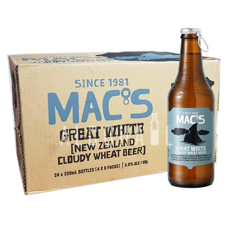Mac's Great White - Case 24 x 330ml