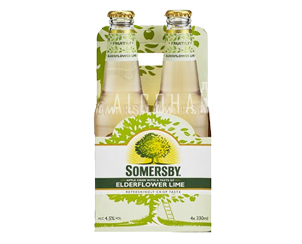 Somersby Elderflower Lime Cider - Pack 6 x 330ml