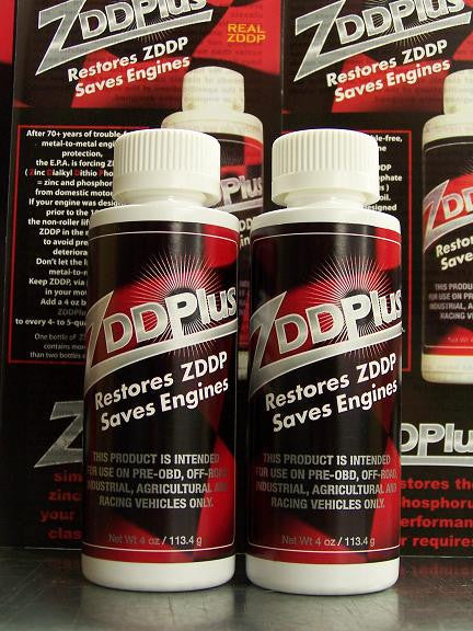 2 Bottles of ZDDPlus Engine Oil Additive
