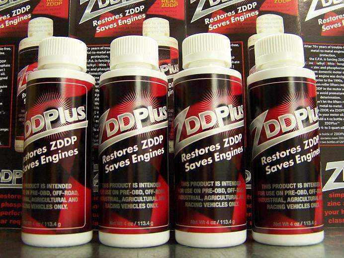 4 Bottles of ZDDPlus Engine Oil Additive
