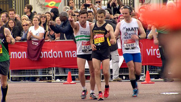 The London Marathon. #ChasingFitnessStory by the Barge Arse Runner