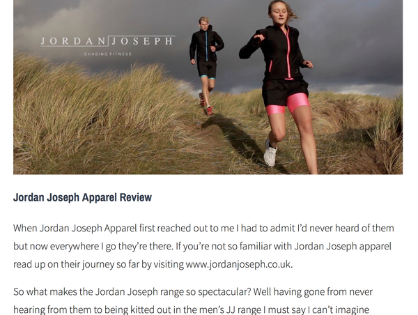 REVIEW - Athlete Nathan Flear reviews our mens range