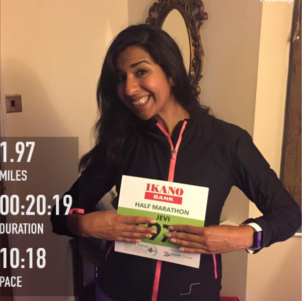 Team Jordan Joseph member Jevi Tariq takes on London Marathon 2018 for Mental Health
