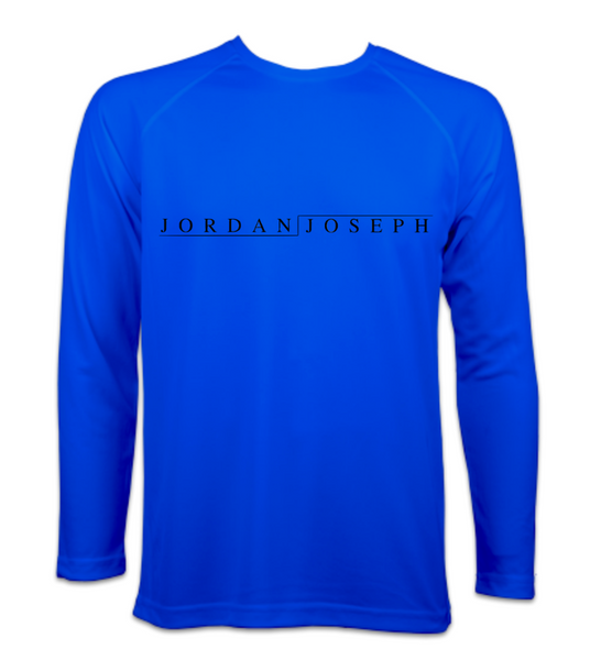 Men's Long-Sleeve Running Top (Royal Blue)