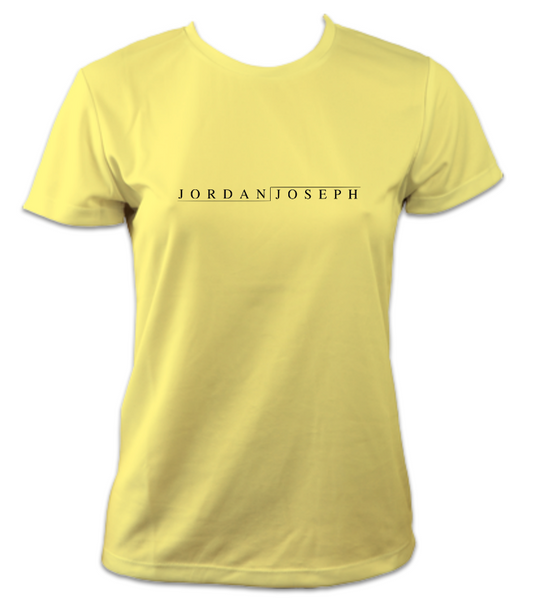 Ladies Short-Sleeve Technical Running T (Sherbet Lemon)