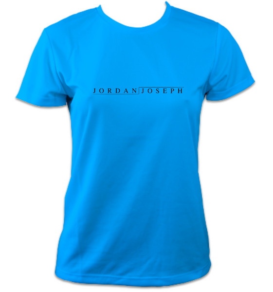 Ladies Short-Sleeve Technical Running T (Sapphire Blue)