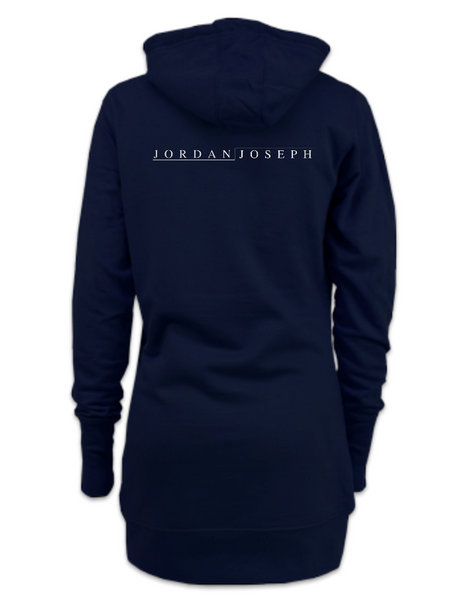 Ladies Dress Hoodie (French Navy)