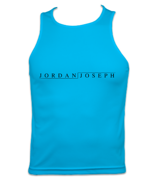 Mens Technical Running Vest Top (Hawaiian Blue)