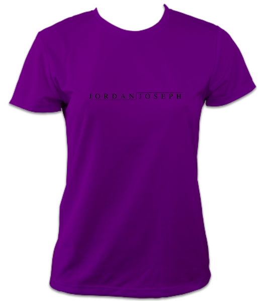 Ladies Short-Sleeve Technical Running T (Magenta)