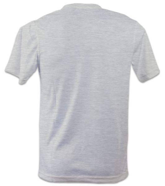 Mens Short-Sleeve Technical Running T (Heather Grey)