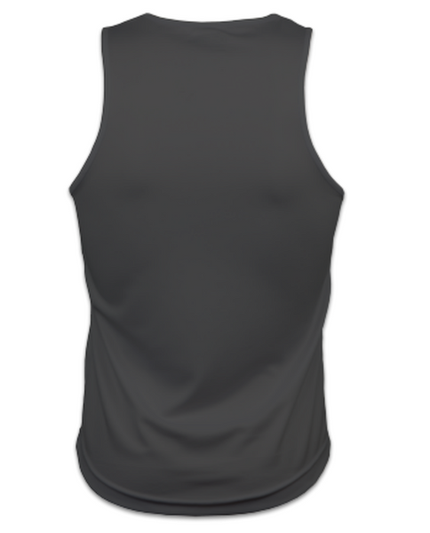 Mens Technical Running Vest Top (Charcoal)