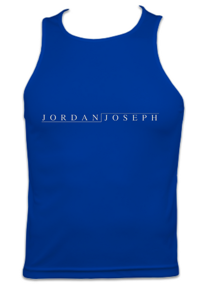 Mens Technical Running Vest Top (Royal Blue)