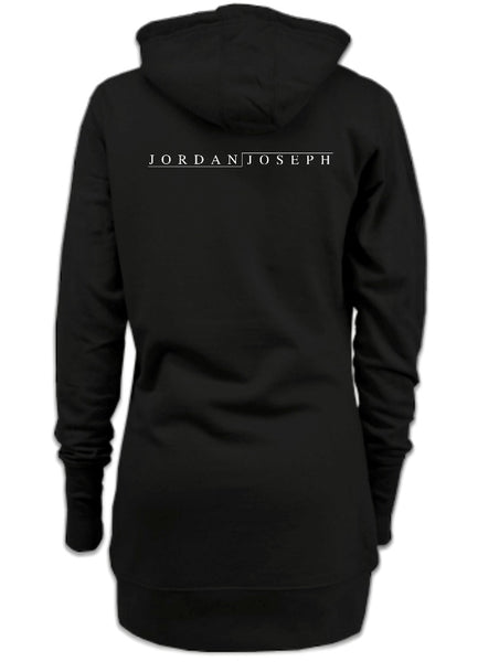Ladies Dress Hoodie (Jet Black)