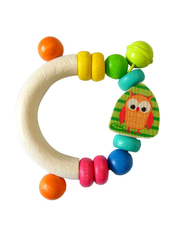 Toys - Baby Rattle - Owl