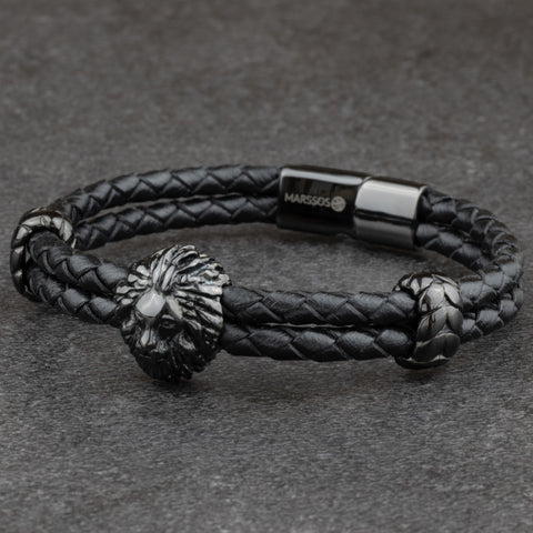The Alpha Bracelet - Leather by Marssos