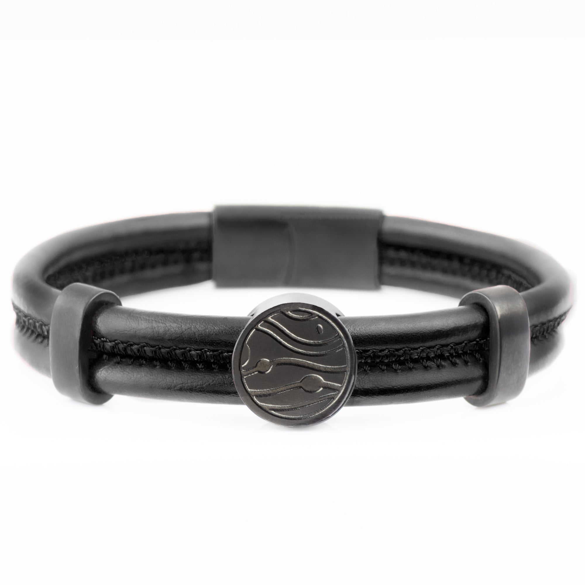 The Rune Bracelet - Black - Marssos